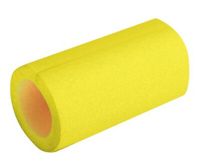 Scaffold Protect Trampoline Tube Padding Yellow Foam 2m Long 48mm Bore 13mm Thic