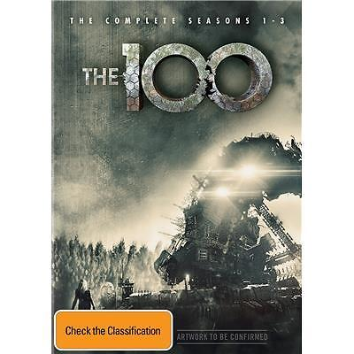 The 100 : Season 1-3 (DVD, 2016, 11-Disc Set) (Region 4) Aussie Release