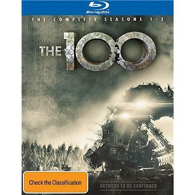 The 100 : Season 1-3 (Blu-ray, 2016, 11-Disc Set) (Region B) Aussie Release