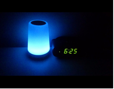 Baby Rest Night Light Sound Machine Wake Nursery Hatch Bluetooth Smartphone