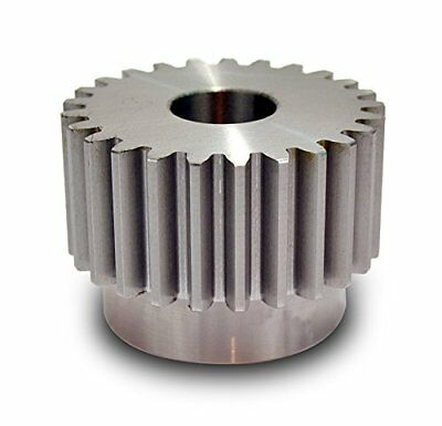 "Boston Gear YH2011/8 Spur Gear, Steel, Inch, 8 Pitch, 1.125"" Bore, 2.750"" OD, 20"