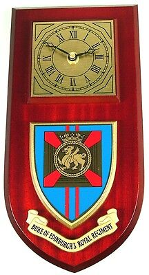 Duke Of Edinburghs Royal Regiment Classic Style Hand Made To Order  Wall Clock
