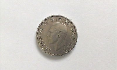 UK (Great Britain) TWO SHILLINGS Coin 1951