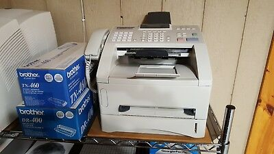 Brother IntelliFAX-4100e Business-Class Laser Fax w/toner and drum