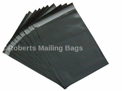 "20 BAGS OF 17"" x 24"" STRONG POLY MAILING POSTAGE POSTAL QUALITY SELF SEAL GREY"