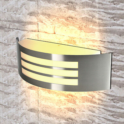 Modern Outdoor Indoor LED Wall Lights Garden Sconce Lamp IP44 E27 Fitting Mains