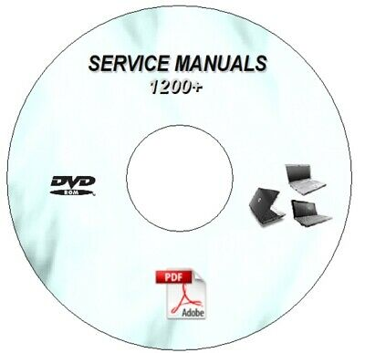 1200+ Laptop  Repair Manuals Dvd  Hp Compaq Acer Toshiba Ibm Sony Dell