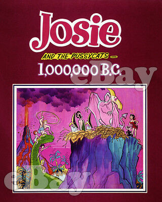 Rare! JOSIE AND THE PUSSYCATS Cartoon Color Photo HANNA BARBERA Studios CONCEPT