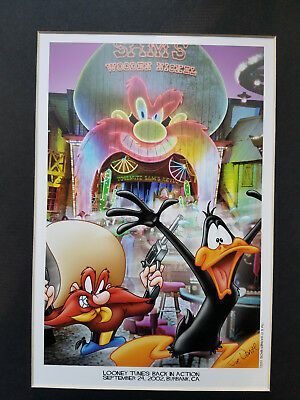 Looney Tunes: Back in Action Limited Edition Lithograph 2002 (Collectable)
