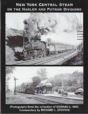 New York Central Steam on the Harlem and Putnam Divisions Railroad Book