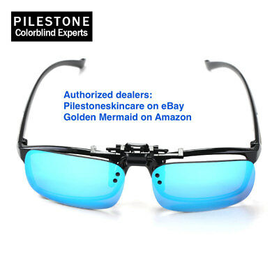 TP-018 Pilestone® Color Blind Glasses Clip-on Same as TP-12