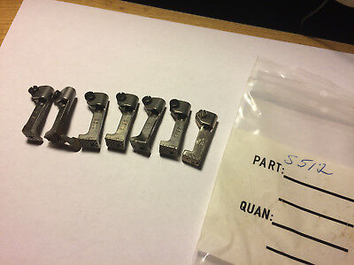 lot of (7) S512 feet for SINGER walking foot sewing machines