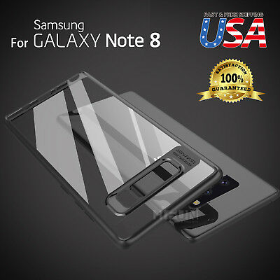 Fits Samsung Galaxy Hybrid Shockproof Clear Ultra Thin TPU Case Cover