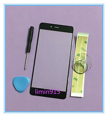 Front Outer Screen Glass Lens Replacement For OnePlus X E1001 Black+Tools