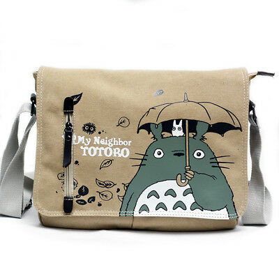 Anime Cute Totoro Shoulder School Bag Messenger Bag