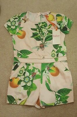 Ted baker girls playsuit new 5-6 years