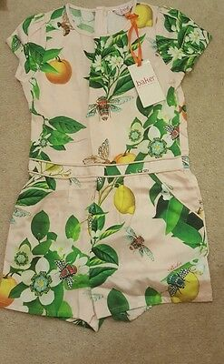 Ted baker girls playsuit new 7-8  years