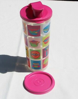 Tupperware Tumbler brand new 17cm tall, 7cm diameter with 2 seals