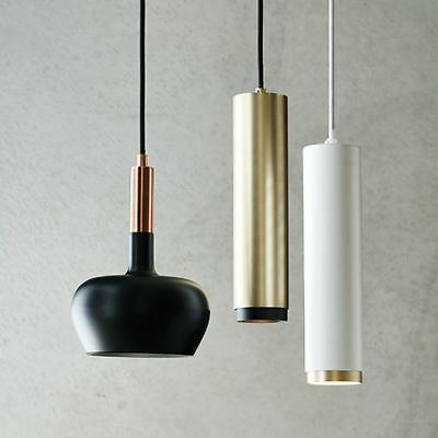 LED lux Pearson Brushed Brass Pendant Light - RRP $189.95