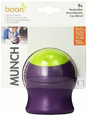 Boon Munch Snack Container Green/Purple Brand New in packaging