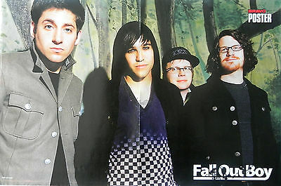 FALL OUT BOY, American pop punk band from Wilmette & NOVAK DJOKOVIC POSTER
