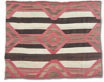 "Navajo Blanket Chief's Third Phase c.1900  75"" x 62"""
