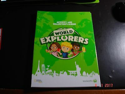 Woolworths World Explorers Activity & Collector's Album, New Empty No Cards Incl