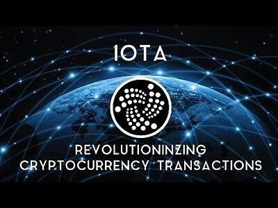 10 Mi IOTA Blockchain Cryptocurrency Paper Wallet MAILED via USPS Priority