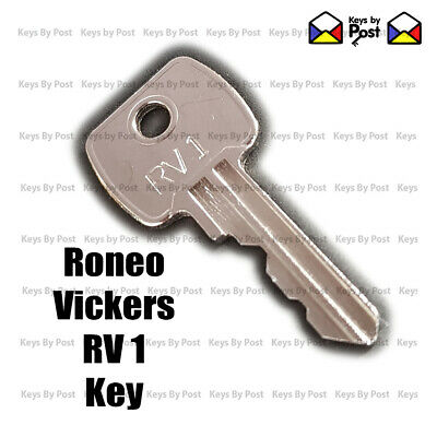 RV1 RONEO VICKERS Replacement Filing Cabinet Key Cut to Code - Fast Shipping!