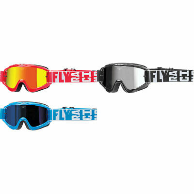 Fly Racing Focus Youth Goggle Accessories 10 Pack Tear Offs /& Lenses MX//ATV//BMX