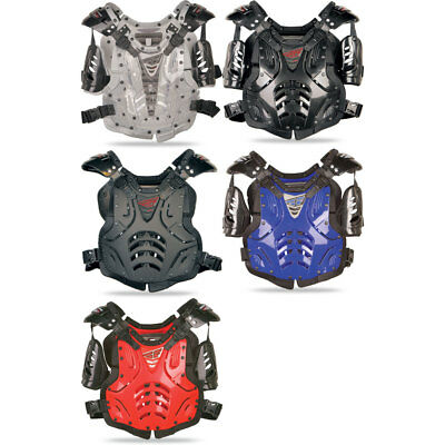 Fly Racing Youth/Adult Convertible Roost Chest Protector Dirt Bike -Size & Color