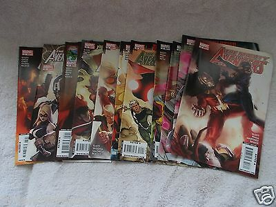 The Mighty Avengers Comics Dark Reign Young Vs Scarlet Witch Issues #21-31