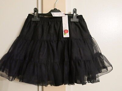 Boboli girls layered blue mini party skirt tulle size 10y NWT
