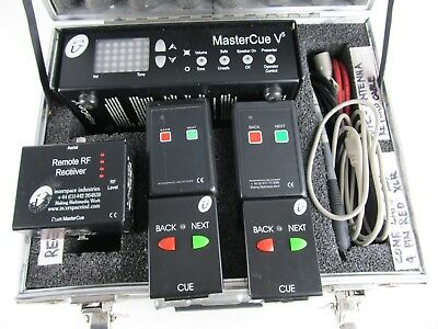 Interspace Industries Master Cue V5 Wireless System In Hard Case, Fully Tested