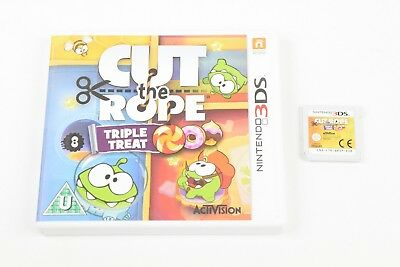 Cut The Rope: Triple Treat (Nintendo 3DS, 2014) PAL BOXED