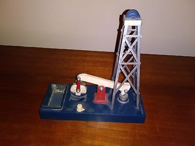 Very Scarce Humble Oil and Refining Company Oil Plastic Oil Rig Toy Texas 1960s