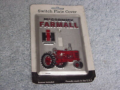Ih Mccormick Farmall 400 Tractor Single Light Switch Plate Cover Nip