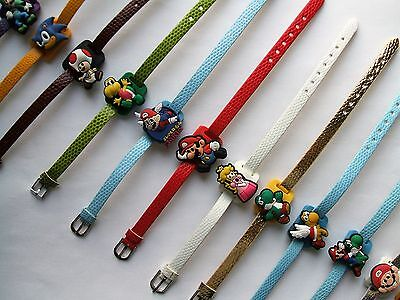 SHOE CHARM BRACELETS (J3) - inspired by SUPER MARIO