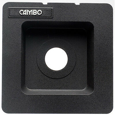 *NEW* -  Never Used Cambo Calumet Recessed Wide-Angle Lens Board - Copal 0
