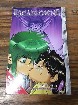 The Vision Of Escaflowne Katsu Aki #7 **NEW**