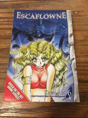 The Vision Of Escaflone Katsu Aki #6 **NEW**