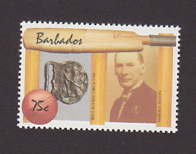 Barbados 721 VF MNH Cricket Sports