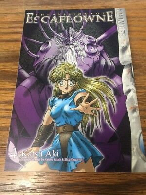 The Vision Of Escaflowne Katsu Aki #4 **NEW** Manga