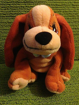 """Disney Lady & The Tramp - 6"""" Lady Plush Soft Beanie Toy - Lovely Used Condition"""