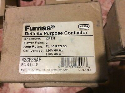 NEW IN BOX Furnas 42CF35AF Definite Purpose Controller Contactor