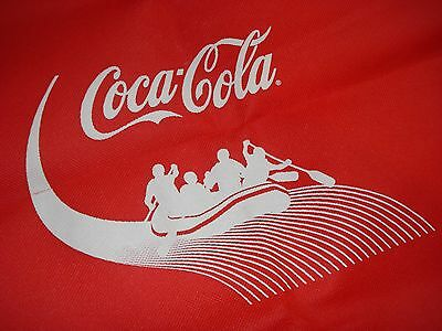 New Coca Cola Coke Mcr Canvas Backpack Cinch Sack Whitewater Rafting Graphics