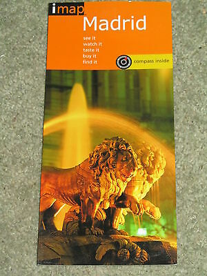 Spain: imap guide to Madrid - laminated map and city guide (2001 edition)