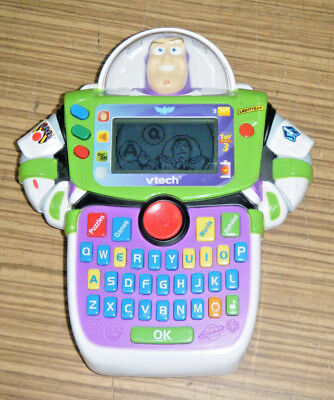 Toy Story 3 Buzz Lightyear Vtech Learn & Go Electronic Game