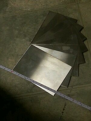 "stainless steel sheet 4 pieces 24 gage 6"" x 4""+- metal plate 430 welding tig mig"
