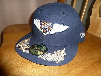 3f61ab75162 Lakeland Flying Tigers 7 1 2 Milb New Era cap hat rare baseball detroit